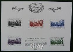2018 The 11 Leaflets With Bs50a No. 854 Voltaire Treasures Of Philately