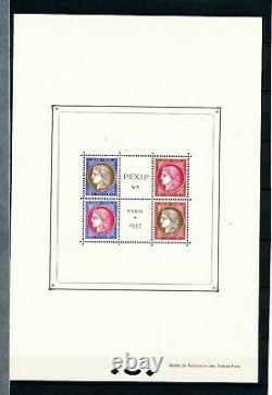 B2122 Stamp France Block No. 3 New Pexip