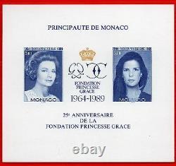 Bloc Feuillet Monaco No Dentele No. 48 Rating 465 Princesses. Neufsup