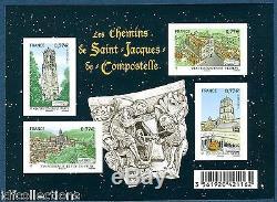 Block F4641 Sheet Paths Compostela 2012 Variety Ungezähnt