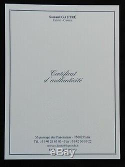 Block Sheet # 1 Exposure Philatélique Paris 1925 (2 Certificates Which Calves)