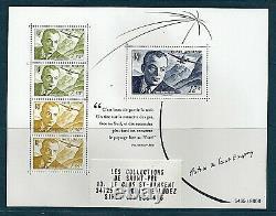 Block Sheet Of 4 Stamps Antoine De Saint-exupery Draw 8000 Ex From June 2021