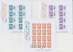 Box Of 10 Undinged 2018 Slips Marianne The Committed