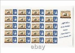 Complete Sheet Of 20 Stamps Personnalises No. 1139 New Caledonie Opt 2011