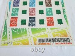 Feuillet Timbres Adhesifs Lamouche No F 3925p Logo Green Aph