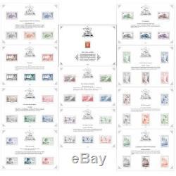 France 10 2019 Treasury Sheets Sheets 1gb + 1 Vermillon Mnh
