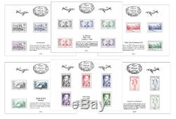 France 10 Treasury Sheets 2018 Philately + 1 Voltaire Sheets Mnh