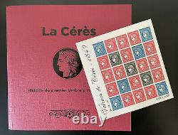 France 2019 Yt F5361 Block La Ceres Values 1849 Draw 6000 Ex With Book