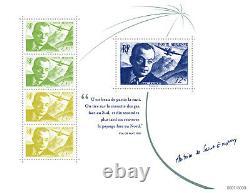 France Bloc Saint-exupery, Luxury, 8 000 Copies Printout, Out Of Stock