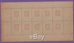 France Block Sheet 5 Centenary Stamp Citex 1949 Paris New XX Ttb R377