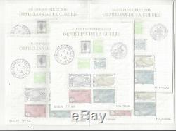France Opportunity 5 Blocks Orphans Philatelic Exhibition 2018 F5226 Limited Edition