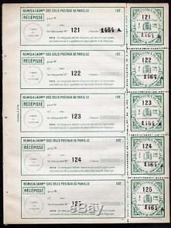 France Parcel Post Of Paris Paris Year For 1924 Leaflet No. 90 New
