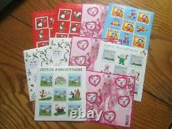 France Stamp Lot 32 Blocks V. Permanent Facial
