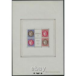 France Stamp Sheet No.3 Pexip 1937 Nine Tb