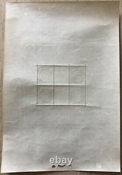 France Stamp Stamp Block Sheet 3 Pexip 1937 New Value XX Tb 800