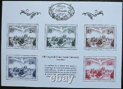 France- Treasury Of The Philatélie 2014 Complet Bs1 To Bs10 Neufs Superbe