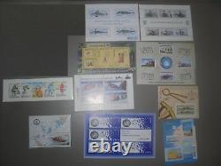 Fsat Taaf T. A. F Lot Of 21 Blocks New Sheets Bf Mint Mnh