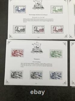 Heritage De France Stamps 2020 10 Blocks With The Bloc Sage 5 Euros