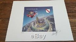 Lot 467 Artist France On Test Block 17 Cnep Numbered Signed Walt Disney Ceo