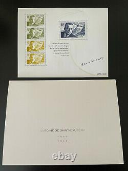 Lot Of 3 Blocks Sheets Saint Exupery 2021 Draw Numerote 8000 Ex