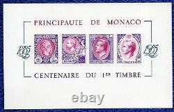 Luxury Event Block Sheet Monaco Non-dentele No.33 Nine Draw 100