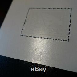 Lvf Stamp Miniature Sheet No. 1 Bears Signed Scheller Nine Luxury Mnh Riviera 700