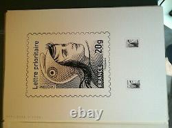 Magnificent Marianne Document Door Of Beaujard With Test Studies Pull To 10 Ex