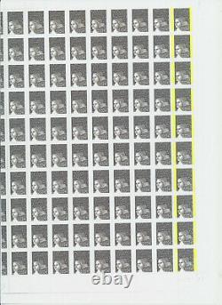 Marianne De Luquet Sheet No. 3444 Variete