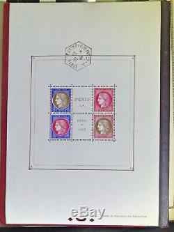 Miniature Sheet 3 1937 International Expo Paris