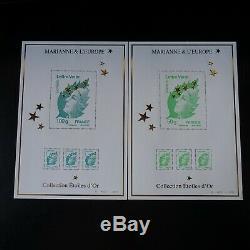 Miniature Sheet Maxi Marianne De Beaujard No. 4662a At No. 4662q Nine Luxury Mnh