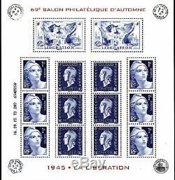 Miniature Sheet No. 4986 69th Philatelic Exhibition 2015 Autumn 1945 Liberatio