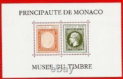 Monaco Feuillet Block No. 58 A Without Stamp At Date Number 1500 Sup Sup Signe