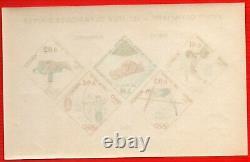 Monaco Special Leaflet Blocks N° -7 J. O Tokyo Insbruck Index 915. New