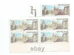 Rare Missing 4-block 4-block Variety Stamp