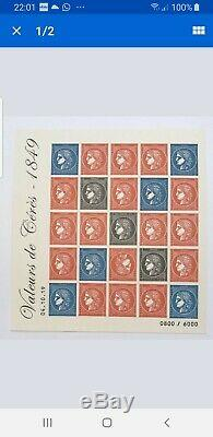 Sell Block Ceres 1 History French Stamp Show 2019 Autumn Draw Raretb