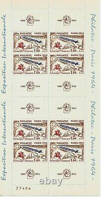 Sheet 6b Of 1964 Philatec, (no. 77486). Nine. Mnh. 1st Choice