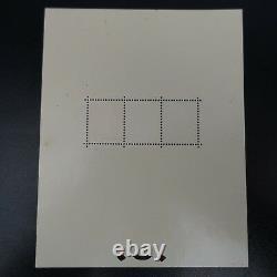 Sheet Sheet Bloc N°2 Strasbourg Exhibition Nine Mnh Rating 3500