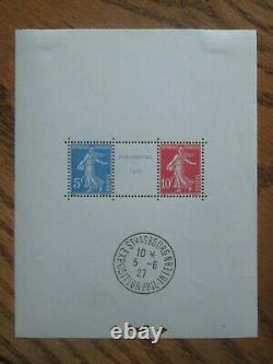 Stamp France Block Yt 2