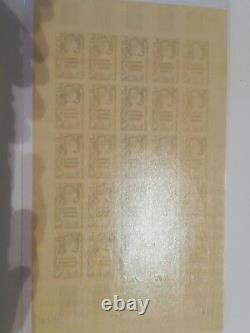 Superb Multicoloured Non-toothed Test Sheet New Caledonie