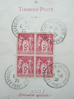 Timbres France Bloc Yt 1 On Letter (not Common)