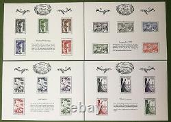 Tresor Of The Philatelie 2015 Bs11 To Bs20 10 Neufs Feuillets