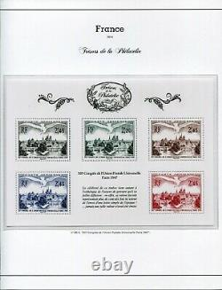 Tresors De La Philatelie 2014 Bs 1 To Bs 10 With Their Pouch