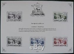 2019 Patrimoine de France avec le feuillet BS10A Cérès 1 franc vermillon
