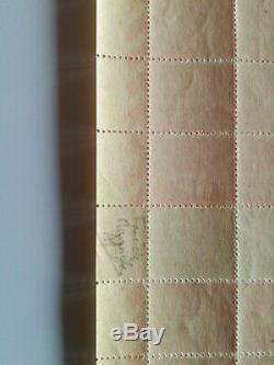 3 feuilles faux de marseille luxe xx + de 15000 euros de cote lot exeptionnel