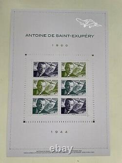5 Blocs Antoine De Saint Exupery 1944