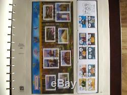ALBUM SAFE 2005 et 2006 TIMBRES / BLOCS / FEUILLETS / CARNETS / PA COMPLETE