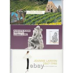 BLOCS SOUVENIRS ANNEE 2017 N°132 à N°141 Sauf le N° 136 NEUFS L'ART DES GENTS