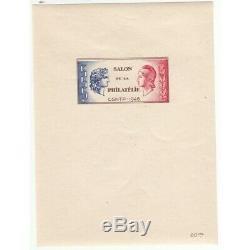 BLOC CNEP 1A SALON PHILATELIQUE C. S. N. T. P. 1946 NEUF Côte 230 Euros (FR2) CNE