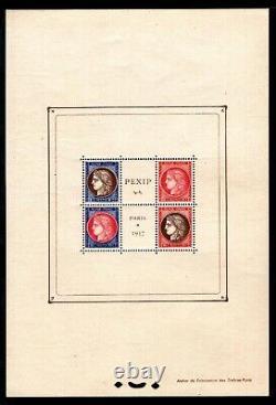 BLOC PEXIP de 1937, Neufs = Cote 800 / Lot Timbres France BLOC n°3
