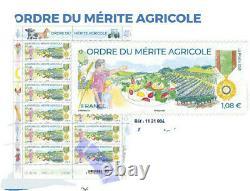 Bloc Feuillet Ordre du Mérite Agricole
